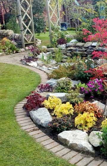 home gardens transformed garden and landscape design ForOuter Space Garden Design Cumbria